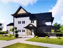 Budynki w Łabowej jak z bajki. Jak będą wyglądać szkoła i urząd po remoncie?