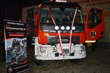 Łososina Dolna: pod choinkę dostaliśmy nowy wóz strażacki