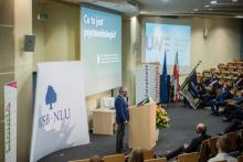 Specyficzna Inauguracja Roku Akademickiego w Wyższej Szkole Biznesu [ZDJĘCIA]