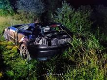 To cud, że przeżył tak straszny wypadek. Jego auto nadaje się jedynie na złom