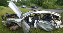 Tragiczny wypadek w Krużlowej. Nie żyje 18-latka. Kierowca był pijany