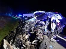 Tragiczny wypadek na drodze krajowej w Witowicach. Zginął młody ksiądz [ZDJĘCIA]