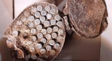 Archeolodzy wykopali naboje do karabinu maszynowego. Zabrali je saperzy