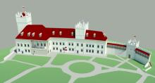 zamek w Nowym Sączu wizualizacja SAAR