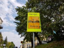 """""""Bić kierowców po oczach""""! Zadanie nowych znaków przy Mickiewicza w Nowym Sączu"""