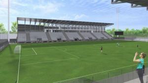 Jak będzie wyglądał stadion Sandecji? Z wizualizacji się tego nie dowiemy...
