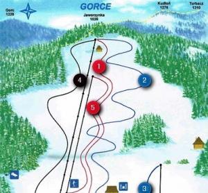 Lubomierz, trasy narciarskie
