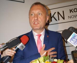 Ludomir Handzel - prezydent - elekt. Fot. Iga Michalec