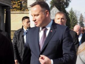 Andrzej Duda przyjechał w nasze strony. Prezydent wybrał się w Gorce [ZDJĘCIA]